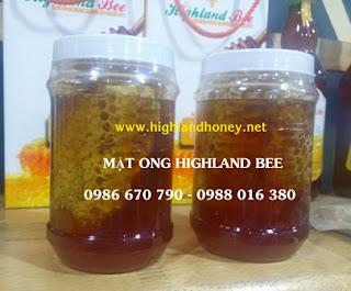 Mật ong nguyên tổ sáp 700gr
