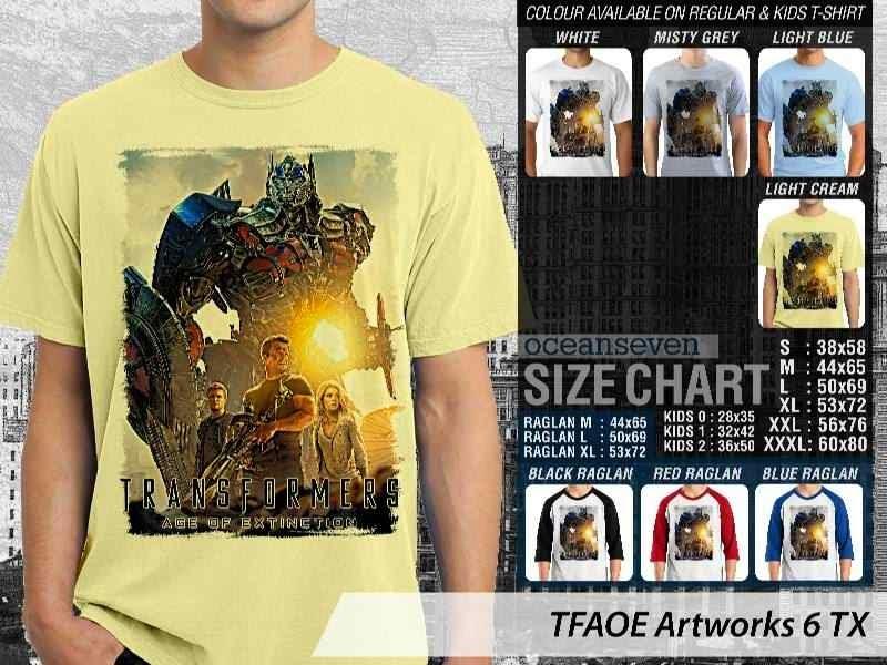 KAOS film Transformers Artworks 6 Transformers Age of Extinction distro ocean seven