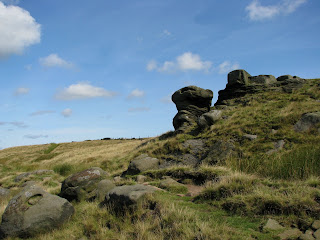 Stanage Edge Rock Formations