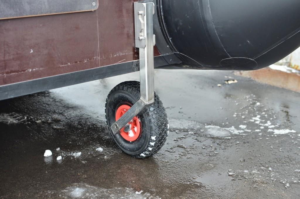 Транспортные колеса для пвх