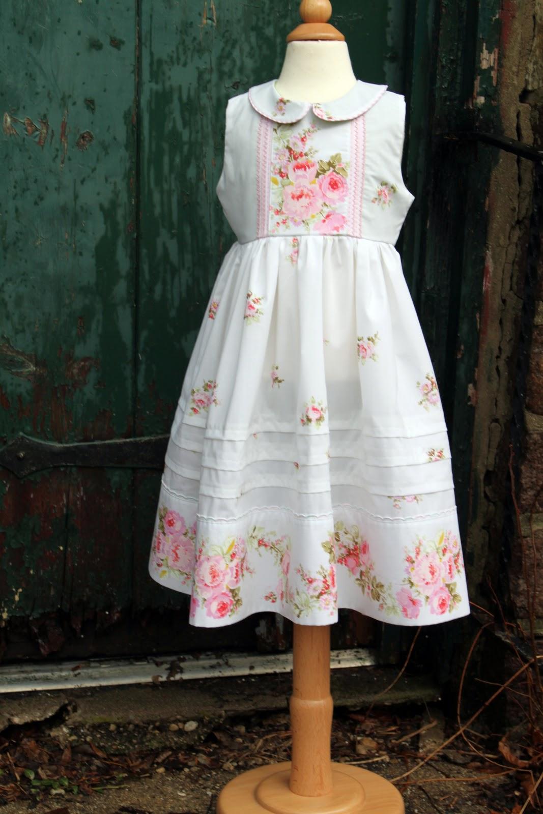 Платья для девочек мастер класс
