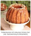 Rotweinkuchen mit Lebkuchen-Schoko-Guß