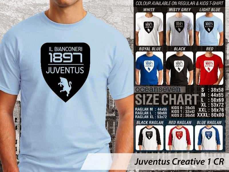 Kaos Bola Juventus 12 Lega Calcio distro