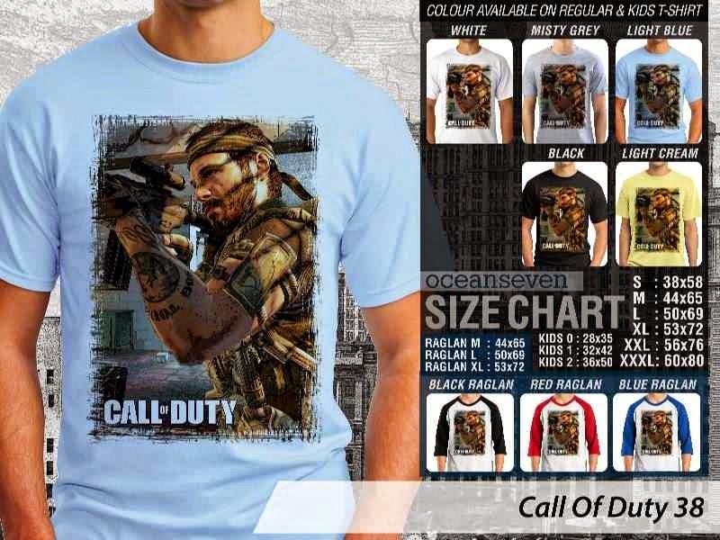 KAOS cod Call Of Duty 38 Game Series distro ocean seven