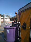 Dunking Mr. Matthews at the Roswell North Elemntary fall festival. This was all Jack talked about for days in anticipation.