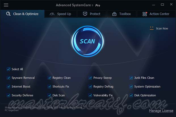 Advanced SystemCare Pro 9