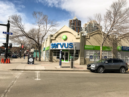 Servus Credit Union - Mount Royal, 706 17 Ave SW, Calgary, AB T2S 0B7, Canada, Credit Union, state Alberta