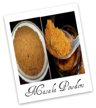 Veg-Recipes -Spice Powders |kothiyavunu.com