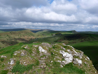 View north west from Chrome HIll Summit