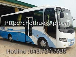 Cho thuê xe 35 chỗ ISUZU SAMCO tại Hà Nội