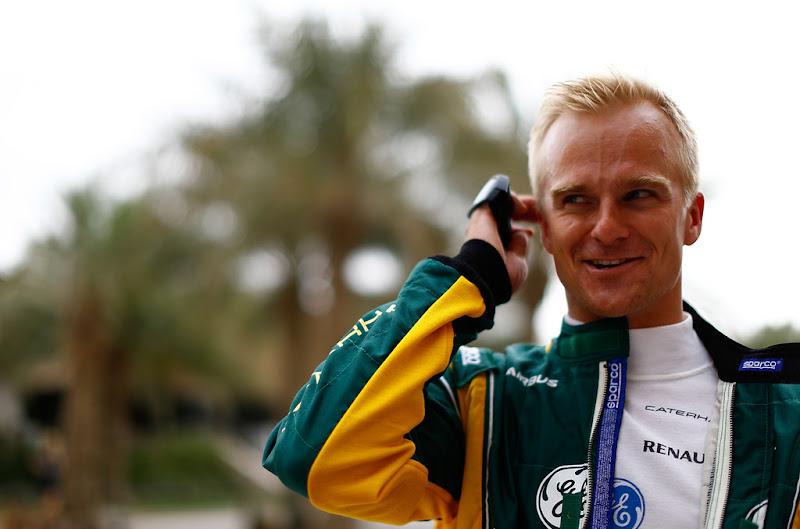 оптимистичный Хейкки Ковалайнен на Гран-при Бахрейна 2013