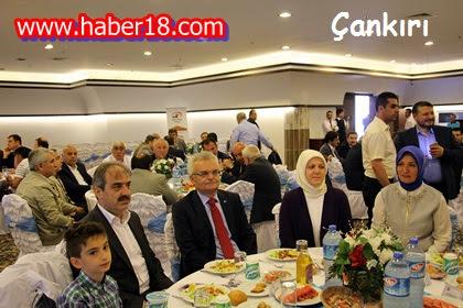 Çankırı Belediye Başkanlığı Vali Özcan'a Veda Yemeği Verdi