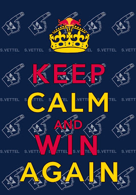 картинка корейских болельщиков Keep calm and win again от AnaObi