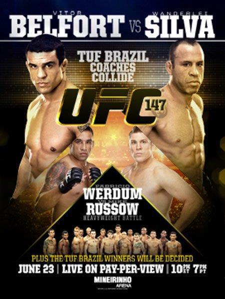 UFC 147: Wanderlei Silva vs. Rich Franklin 2 (23.06.2012) PL.TVRip.XviD / PL