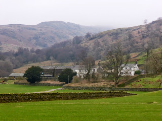 The buildings at Troutbeck Park