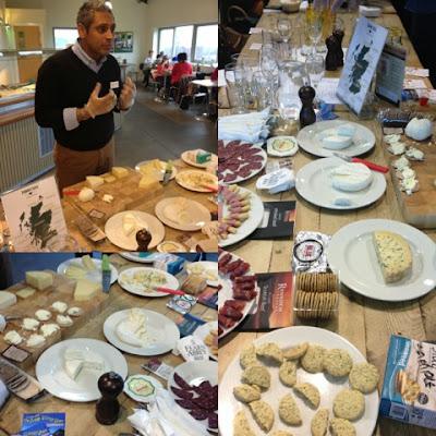 Scottish Artisan Cheese at Craigie's Farm, Deli and Cafe. South Queensferry, Edinburgh