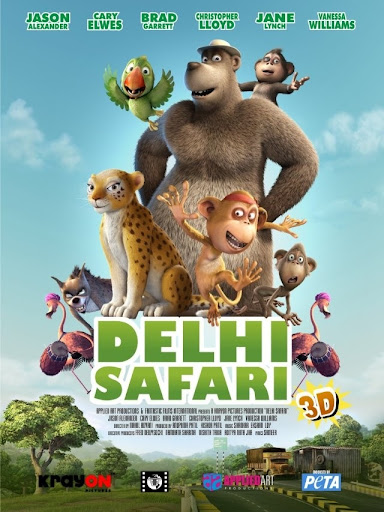Cuộc Hành Trình Của Chú Báo Đốm - Delhi Safari (2012)