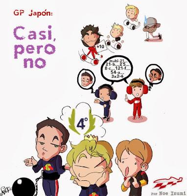 чиби-пилоты Noe Izumi по Гран-при Японии 2013