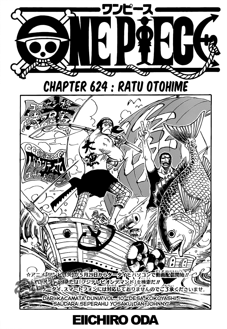 Page01 One Piece 624   Ratu Otohime