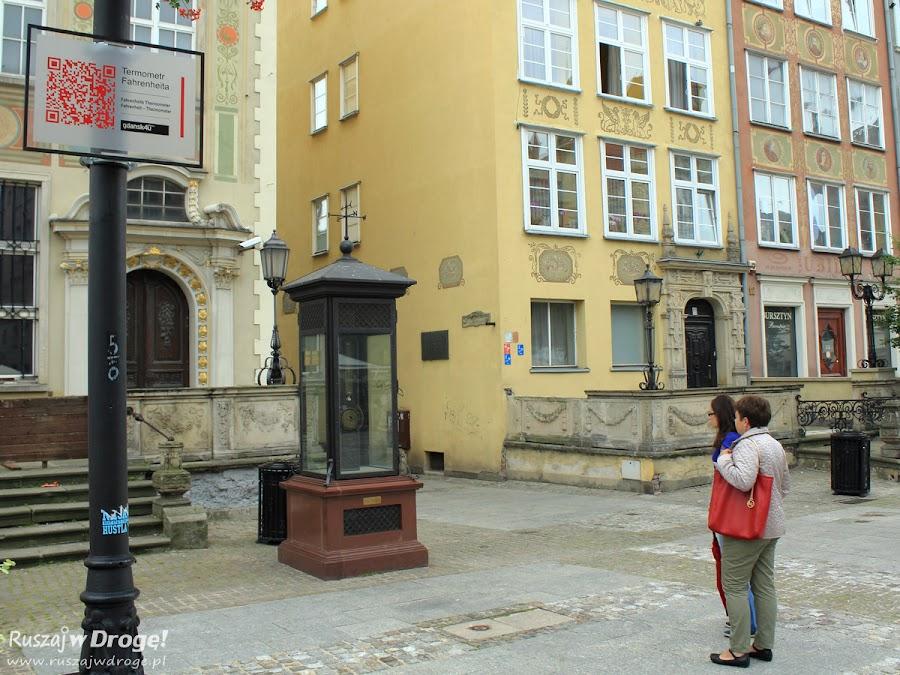 Gdańsk Termometr Fahrenheita