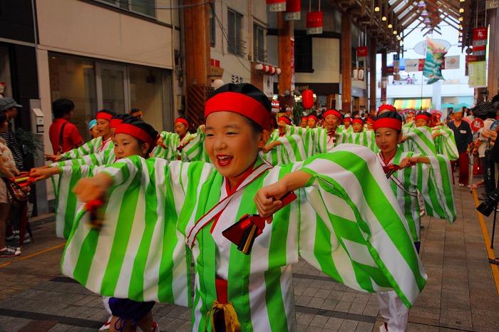 第59回よさこい祭り☆本祭2日目・はりまや橋競演場23☆上2目0034