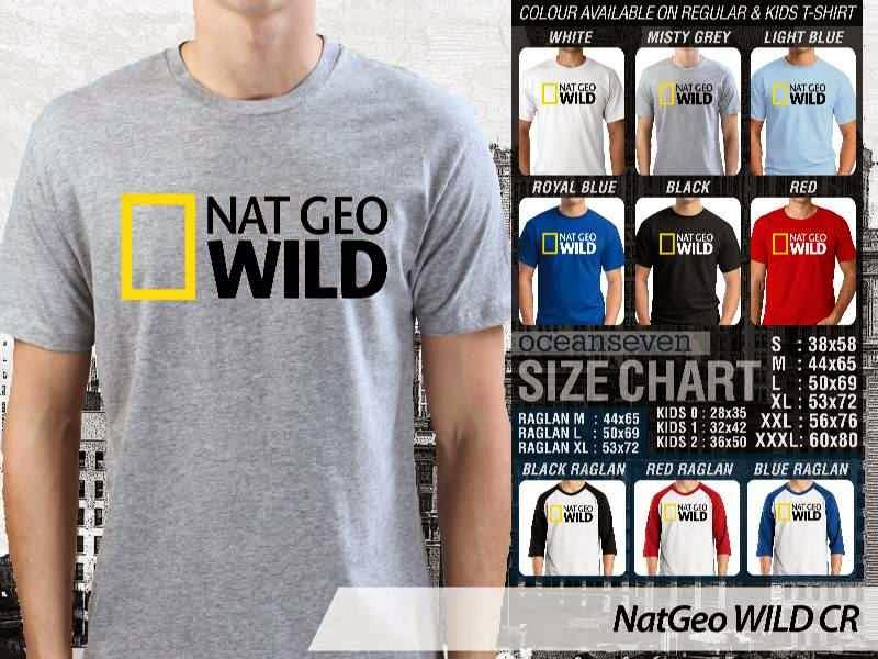 Kaos National Geographic NatGeo Wild distro ocean seven