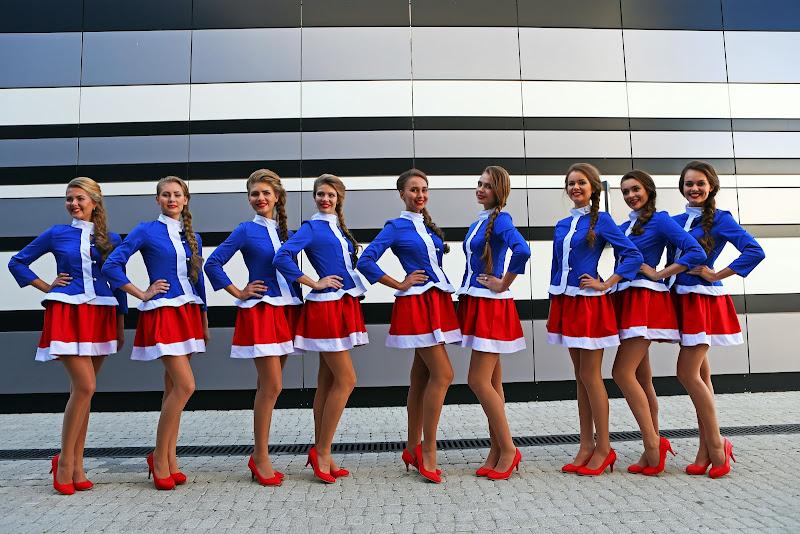 грид-герлз Сочи на Гран-при России 2014