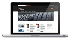 automobile online store template