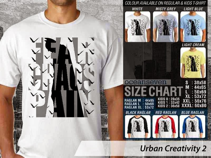KAOS Batman Urban Creativity 2 distro ocean seven