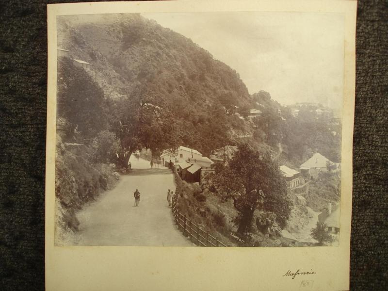 Vintage Photographs of Mussoorie - 1887