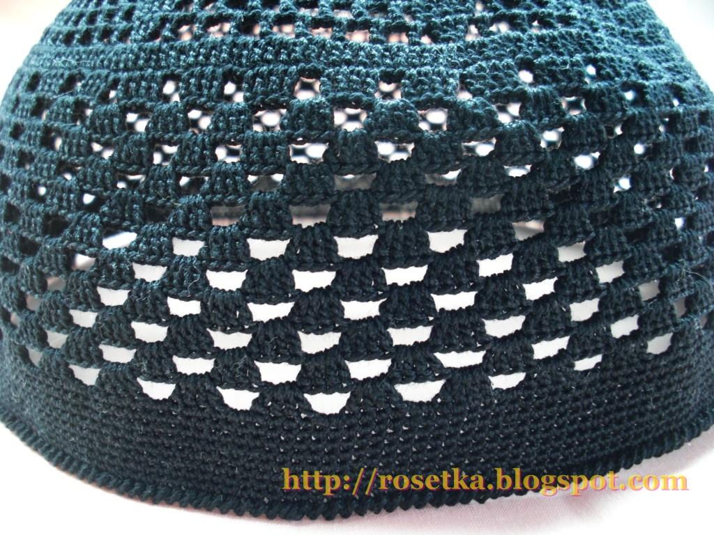 схема вязания крючком шапки-курочки