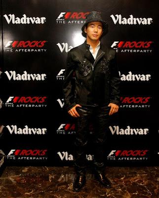 Сакон Ямамото на F1 Rocks Afterparty Гран-при Индии 2011