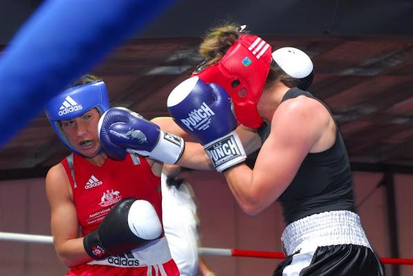 women boxers