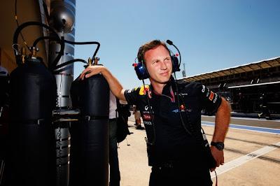 Кристиан Хорнер на Гран-при Европы 2011