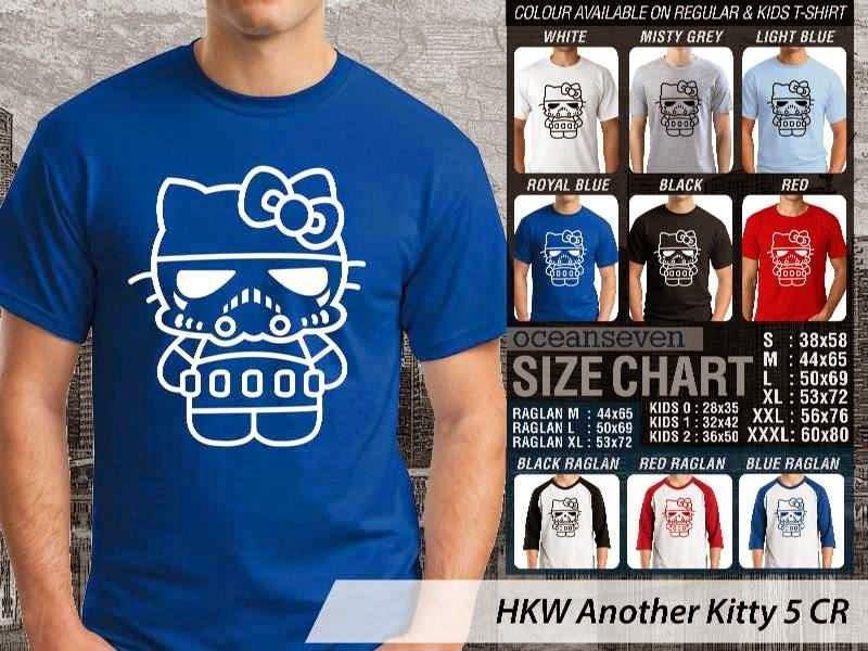 Kaos kartun lucu Another Hello Kitty 5 distro ocean seven