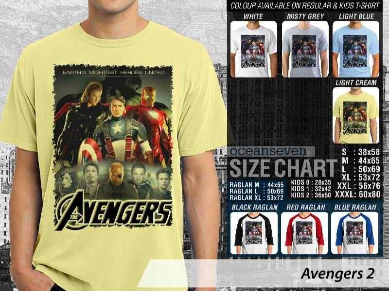 Jual Kaos Captain America iron man 2 Avengers