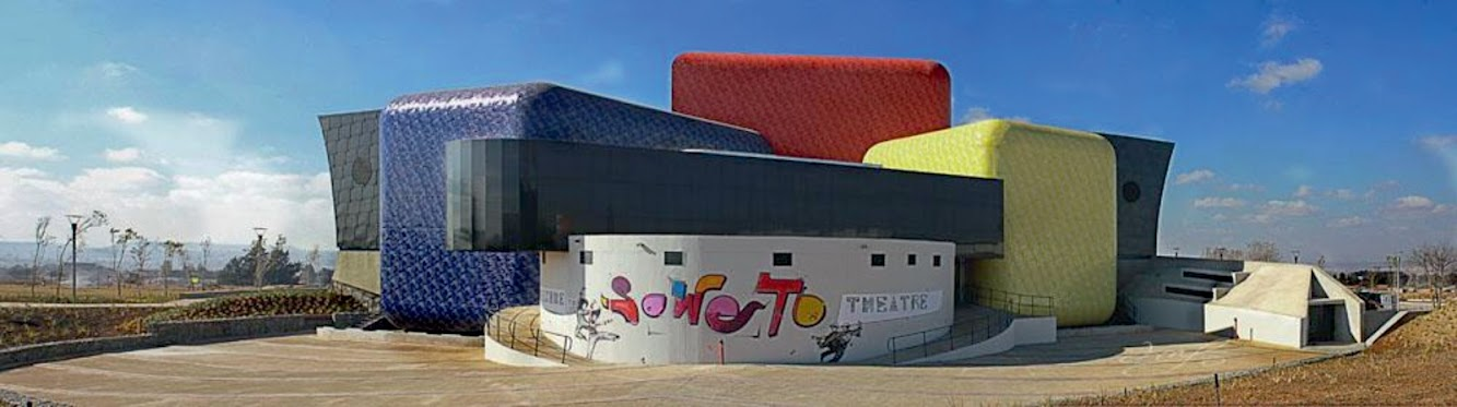 Soweto Theatre by Afritects