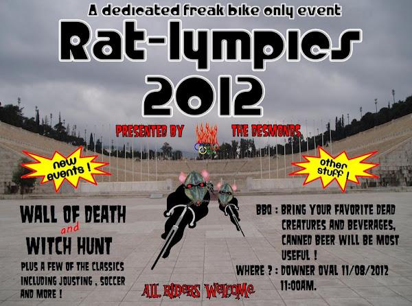 ratlympics poster