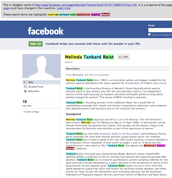 mtr facebook cache screenshot