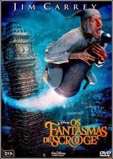 Os Fantasmas De Scrooge – DVDRip AVI Dual Áudio