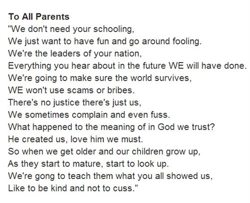 Happy Parents' Day Poems - Free Quotes, Poems, Pictures for ...