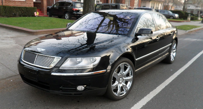 It 39 s a jersey thing volkswagen phaeton w12 thinks it s a bentley