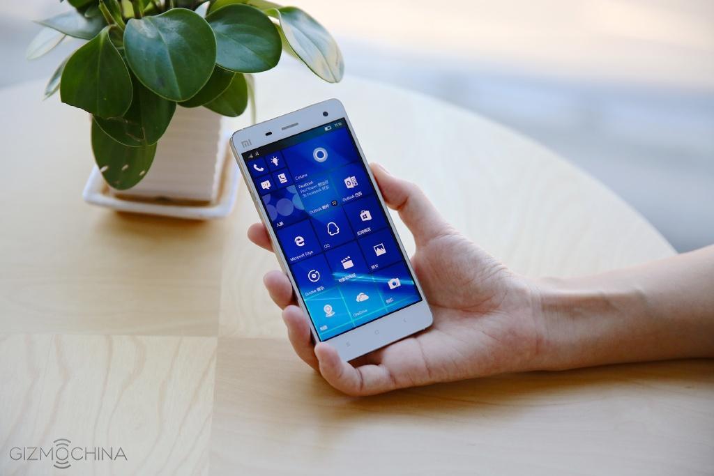 Xiaomi Mi 4 chạy windows 10 đã sẵn sàng lên kệ - 102990