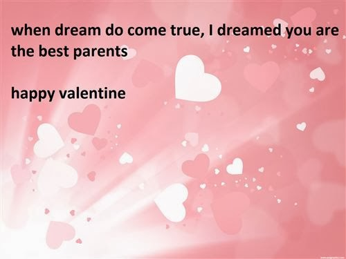 best valentine's day 2014 poems for parents from child - free, Ideas