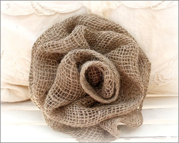 Weird Day & Burlap Roses