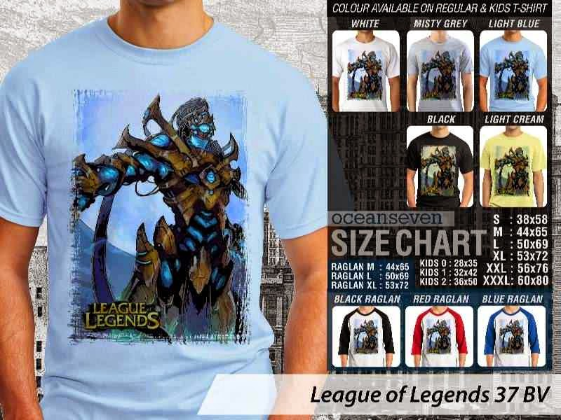 Kaos Game Online League of Legends 37 distro ocean seven