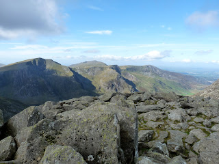 The Glyders from Tryfan