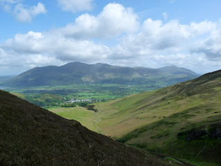 "Skiddaw through the ""gap""."
