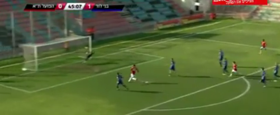 Screen+Shot+2012 03 22+at+1.14.29+PM The fastest second half goal of the season: Mirko Oremus (Hapoel Tel Aviv) vs Bnei Lod
