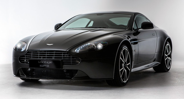 Aston Martin SP10 1 New Aston Martin Vantage SP10 Offers a 6 Speed Manual for the First Time on V8 S